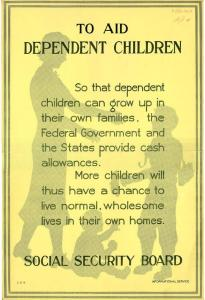 1940 SSA Poster Promoting ADC