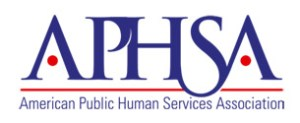 The American Public Human Services Association, formerly known as the American Public Welfare Association.