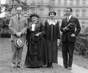 Pres. Coolidge, Mother Jones, Mrs. Coolidge, Theodore Roosevelt, Jr. 9/26/24