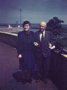 Helen Hall and Paul U. Kellogg in Retirement
