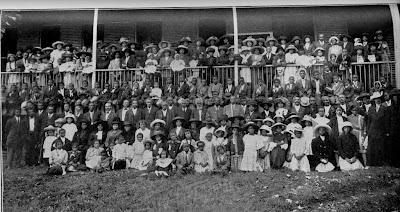 During the Centennial Year in 1912, the former slaves who had worked and lived at Nazareth, along with their families, were invited to celebrate.