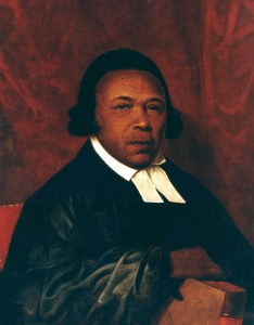 Absalom Jones was born into slavery and taught himself to read using the New Testament as one of his resources. At the age of 16, Jones attended a night school for blacks operated by Quakers and purchased his own freedom in 1784.