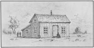 Swedish Lutheran Church - Norelius 1st School 1862