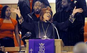 Vashti Murphy McKenzie – Vashti Murphy McKenzie became the first female bishop of the A.M.E. Church in 2000.