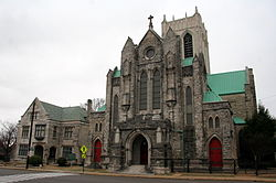 Diocesan House, Cathedral and Sisters Chapel, Memphis, TN