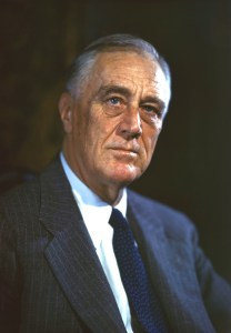 FDR, 1944, Official Campaign Portrait by Leon A. Perskie