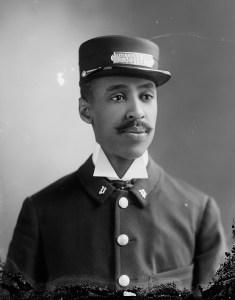 Mays, J.W., Pullman car porter