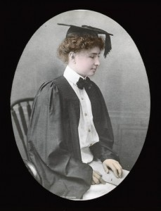 Helen Keller Graduating 1904, Source:Alexander Graham Bell Association for the Deaf and Hard of Hearing