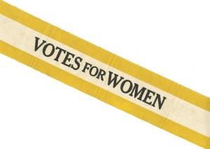 Suffrage Sash