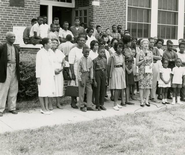 Free School No. 2, Farmville, 1963.