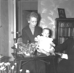 Anna Kempshall Holding Her Great Niece, Star Adamson McLean