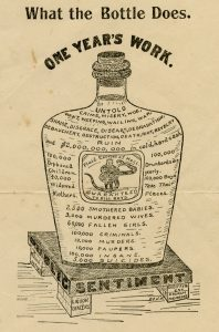 Handbill published by the Virginia Anti-Saloon League, circa 1900