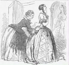 Male domination vs female in 1800s