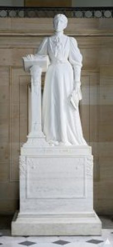 Statue of Frances Willard given to the National Statuary Hall Collection by Illinois in 1905