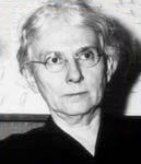 Lucy Randolph Mason, head and shoulders photo. She has white hair and glasses