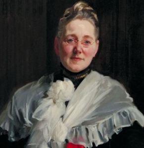 Mary Elizabeth Garrett, portrait painted by John Singer Sargent