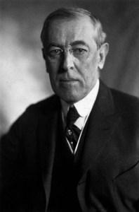 Photograph: Portrait of Woodrow Wilson, 1919