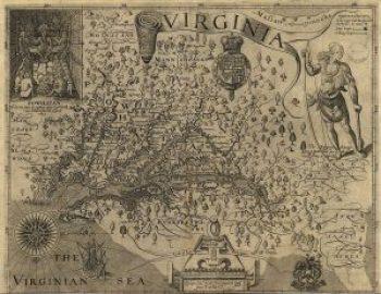 Capt. John Smith's Map of Virginia, 1612