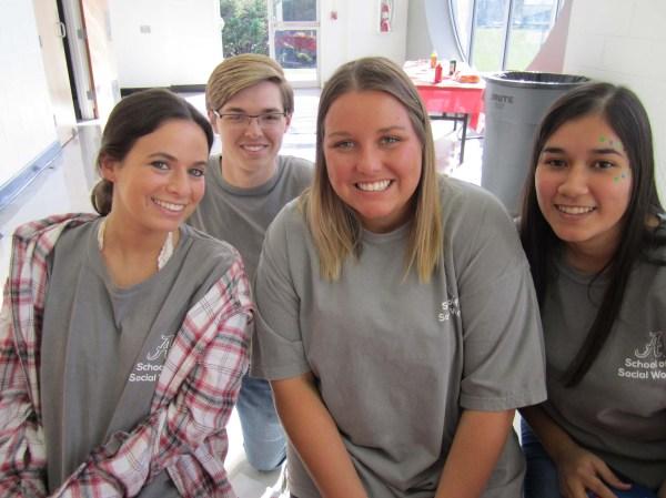 Social Work Students Organize Fall Festival Tuscaloosa
