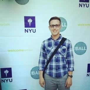 Matt Braman NYU Welcome Week Photo
