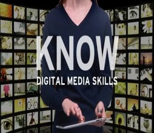 Digital Media Skills slide