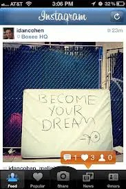 Instagram-Build Your Dream