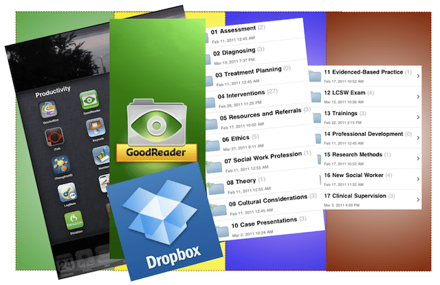 A collage of the software and apps I discuss in this article