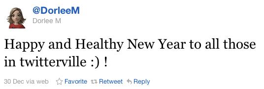 A Tweet by @DorleeM