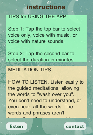 How to Use The App