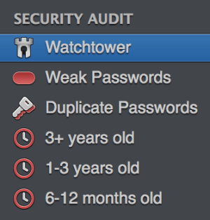 1Password's security audit, showing what's wrong with your passwords