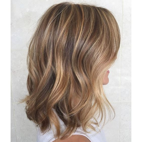 If you're not quite blonde and not quite brunette, you actually have the perfect canvas to create this dimensional, sandy color with highlights!