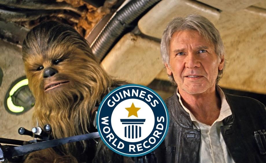 Segundo teaser de 'O Despertar da Força' é reconhecido nos Recordes do Guinness