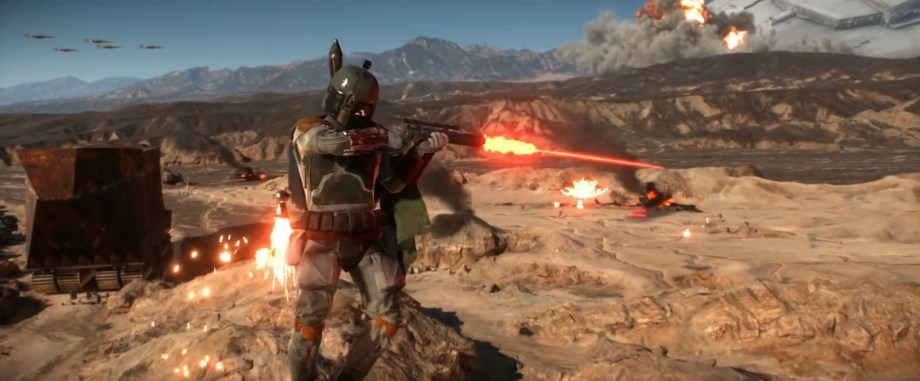 O Destroyer caído em Star Wars Battlefront é explicado.