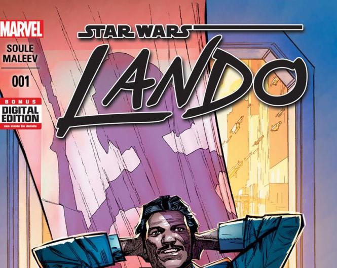 Primeiras informações sobre Star Wars: Lando #1