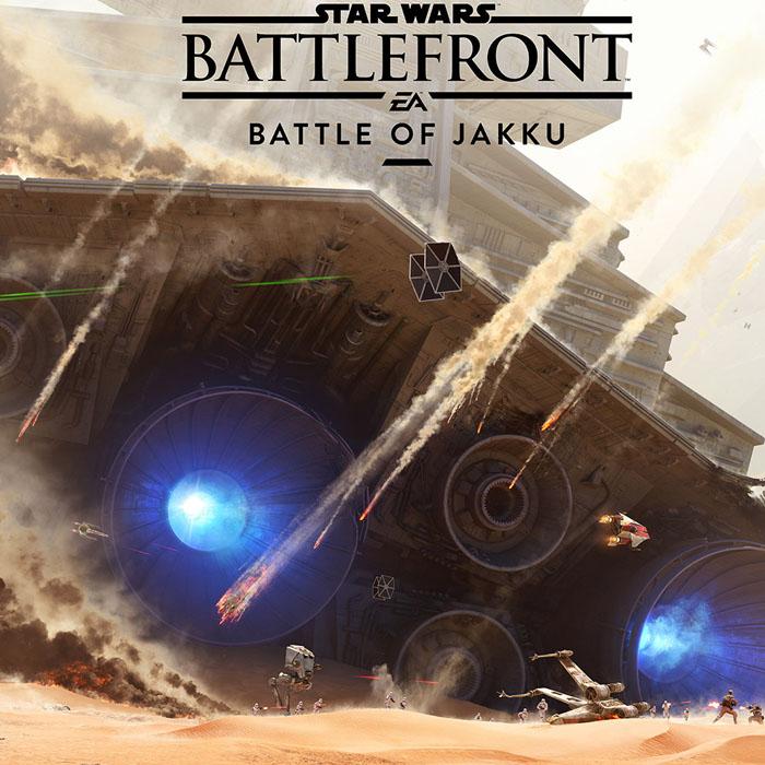 Primeiras imagens da Batalha de Jakku!