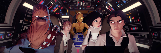 Disney Infinity 3.0 contará com personagens de Star Wars