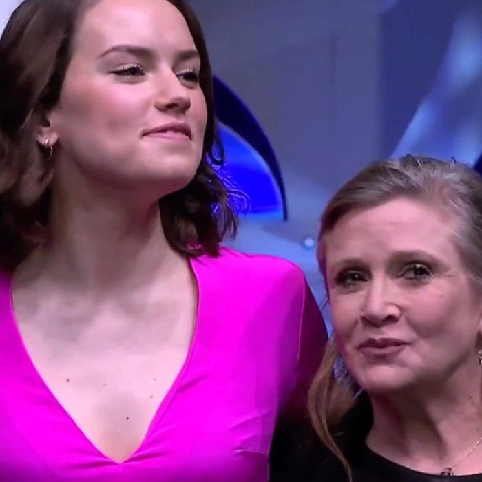 Uma conversa descontraída entre Carrie Fisher e Daisy Ridley!
