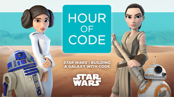 "Code.org anuncia ""Star Wars: Building A Galaxy With Code"" – Aprenda a programar com Star Wars"