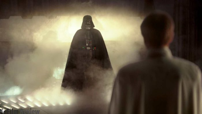 Rogue One | Elenco fica empolgado ao filmar com Darth Vader