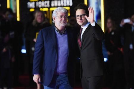 J.J Abrams e George Lucas