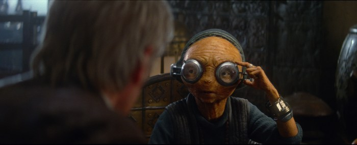 Star Wars: The Force Awakens Maz Kanata (Lupita Nyong'o) Ph: Film Frame © 2014 Lucasfilm Ltd. & TM. All Right Reserved..