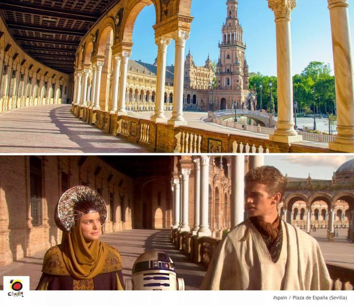 Lugares de Star Wars - Sevilla Espanha 01 (Theed Naboo)