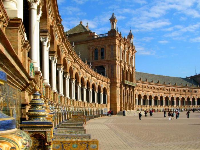 Lugares de Star Wars - Sevilla Espanha 02 (Theed Naboo)