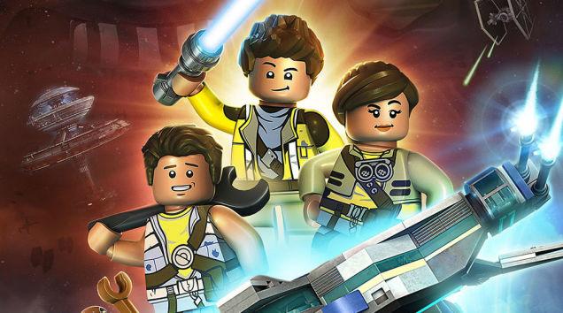 Uma nova animação de Lego Star Wars vai mostrar uma família pela galáxia