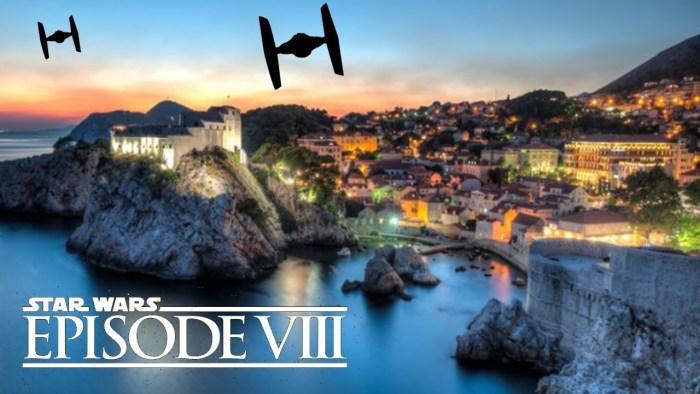 Episódio VIII | Atualização: imagens das filmagens na Croácia