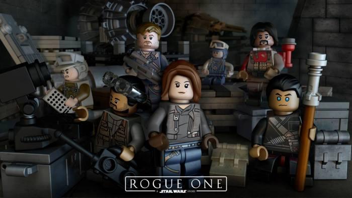 """Confira o LEGO trailer de """"Rogue One: Uma História de Star Wars"""""""