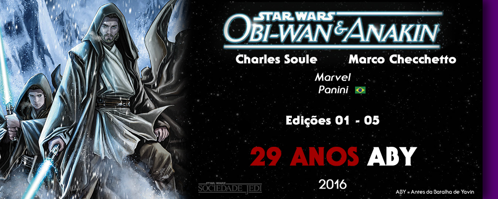 Cronologia Canon - Comic - Obi-Wan & Anakin