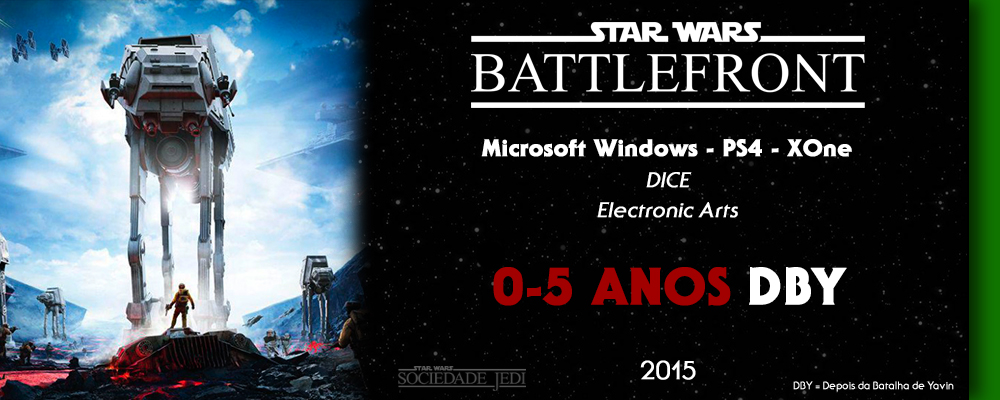 Cronologia Canon - Game - Battlefront