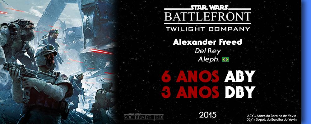Cronologia Canon - Livro - Battlefront Twilight Company