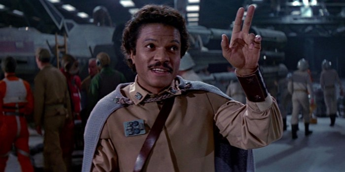Billy Dee Williams pode estar na Jedicon RJ 2017!
